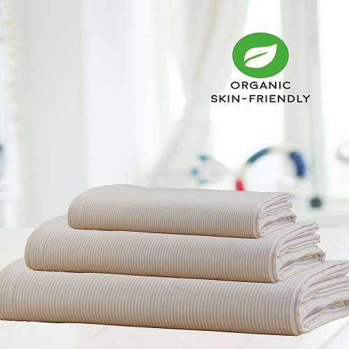 organic cotton fitted sheet, organic cotton, organic cotton bedding,