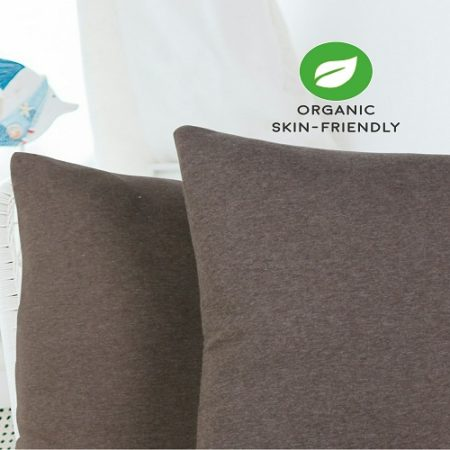 organic cotton cushion cover, organic pillow cover, organic cotton, organic cotton bedding,